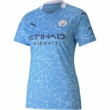 Manchester City Women's Home Jersey 20/21 (Customizable)