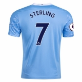 Manchester City #7 Raheem Sterling Home Jersey 20/21