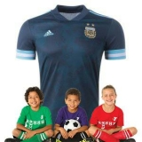 Kid's Argentina Away Suit 2020(Customizable)